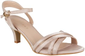 Addons Women Beige Pumps