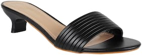 Addons Women Black Pumps