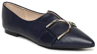 Addons Women Navy Blue Bellie