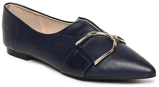 Addons Women Navy Blue Bellies