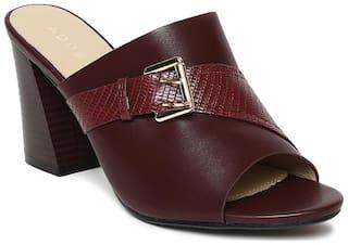 Addons Women Maroon Sandals