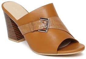 Addons Women Tan Sandals