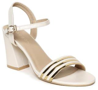Addons Women White Sandals