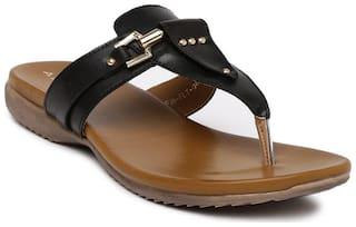 Addons Black Slippers