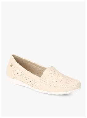 Addons Cream Loafers