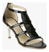 Addons Patent Open Toe Heel Sandal