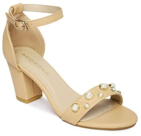 Addons Women Cream Sandals