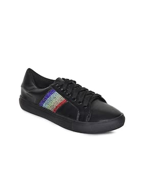 Addons Women Black Casual Shoes