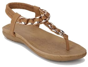 Addons Women Tan Sandals