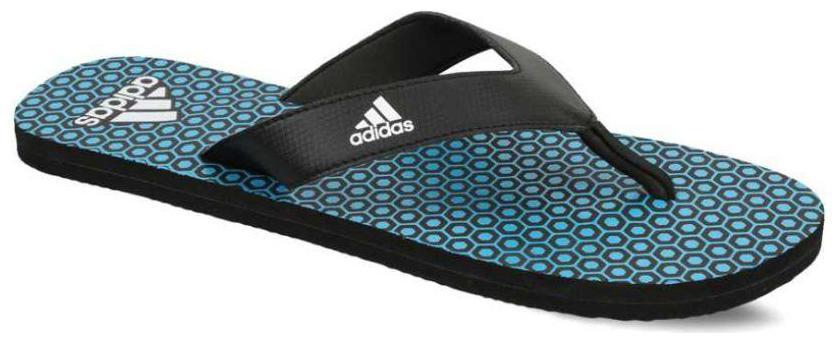 Adidas Men Black Flipflop
