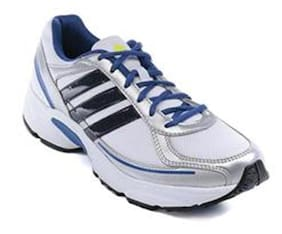 Adidas Men AF3093 White Running Shoes