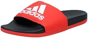 Adidas Men Red Sliders - 1 Pair