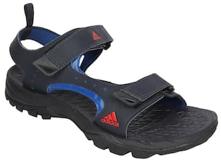 e3c3d227f Buy Adidas Men Blue Sandals   Floaters Online at Low Prices in India ...