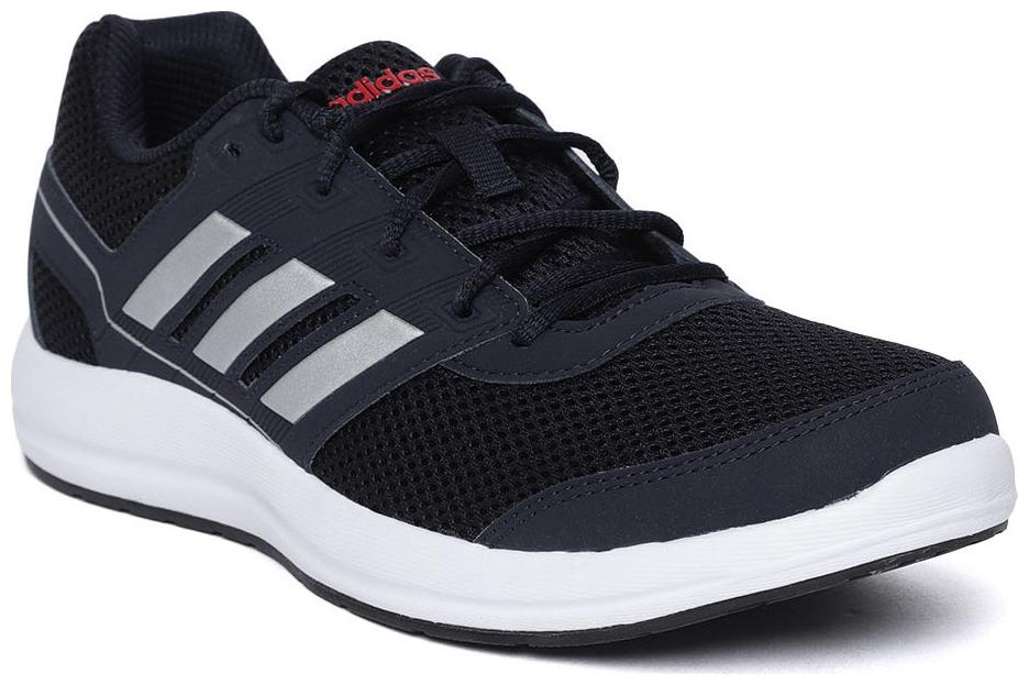 navy adidas mens trainers