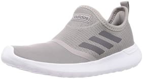 Adidas Men LITE RACER Running Shoes ( Grey )