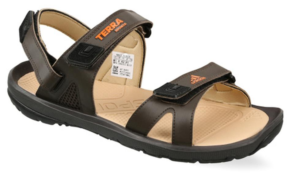 fe166879b7dd Buy Adidas Men Brown Sandals   Floaters Online at Low Prices in ...