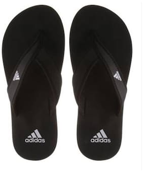 Adidas Men's Adi Rio Black Slippers & Flip Flops