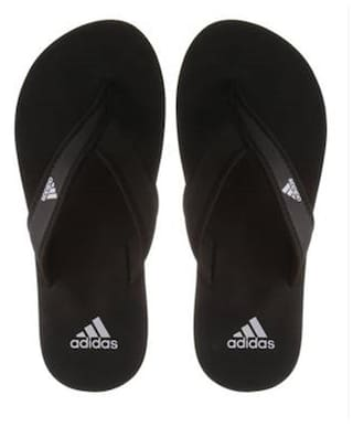 b716b6276f9b90 Buy Adidas Men's Adi Rio Black Slippers & Flip Flops Online at Low ...