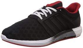 Adidas Men'S Solar Rnr M Black, Red And White Mesh Running Shoes - 8 Uk