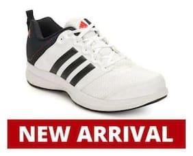 Adidas Men White Running Shoes