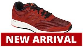 Adidas Men Red Running Shoes