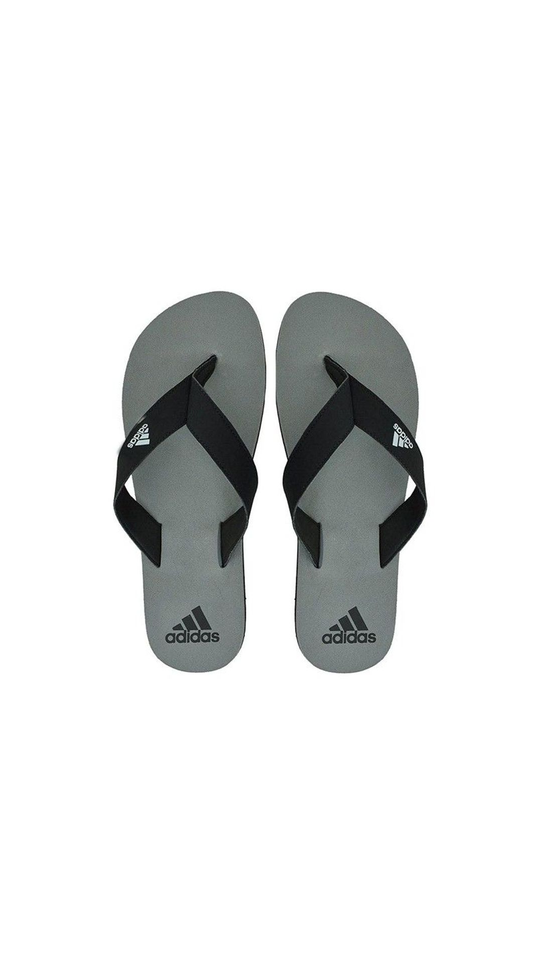 Adidas Men's Eezay Max Out Grey Men Flip-Flops