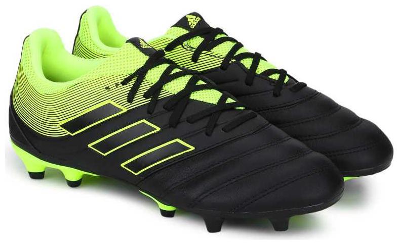 Adidas Men COPA 19.3 FG Football Shoes   Black