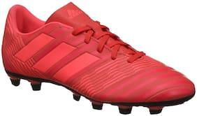 Adidas Men Football Shoes ( Pink )