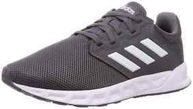 Adidas Men Showtheway Running Shoes ( Grey )