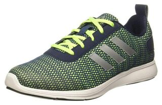 Adidas Men Green Running Shoes