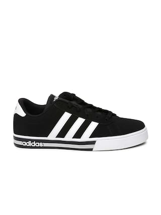 de8b27ae8559 Buy Adidas Men Black Sneakers - Aw4575 Online at Low Prices in India ...