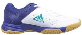 Adidas Men QUICK FORCE 3.1 Badminton/Squash Shoes ( White )