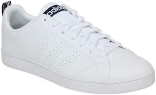 Adidas Men White Sneakers