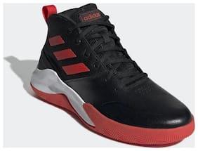 Adidas Men OWNTHEGAME Basketball Shoes ( Black )