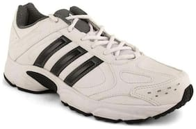 Adidas Unisex White Running Shoes - Af3078