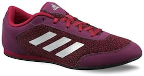 Adidas Women Football Shoes ( Red )