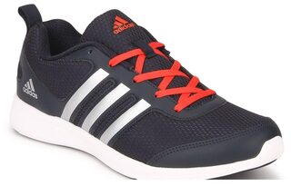 Adidas Men Black Running Shoes