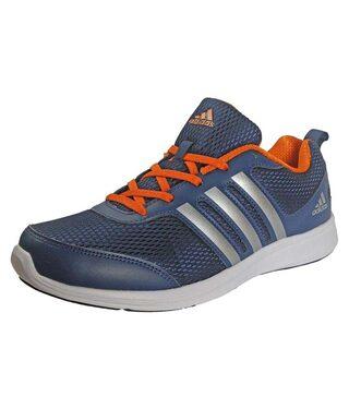 Adidas Men Blue Walking Shoes - Bi2797