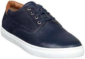 Aditi Wasan Men Navy Blue Casual Shoes