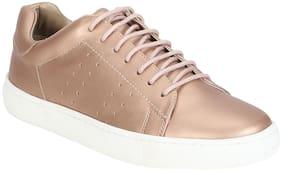 Aditi Wasan Women Gold Casual Shoes