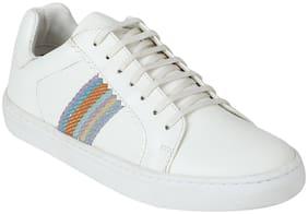 Aditi Wasan Women White Casual Shoes