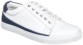 Aditi Wasan Men White Classic Sneakers
