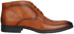 Aditi Wasan Tan Genuine Leather Chukka Boot