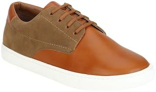 Aditi Wasan Men Tan Casual Shoes