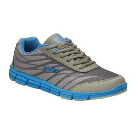 Admiral Men's Edge Grey Blue Running Shoes