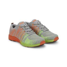 Admiral Womens Grey Orange Citron Byam Running Shoes