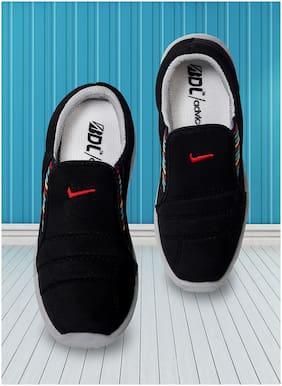 Advice Women Black Slip-On Shoes