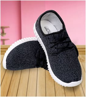 Advice Women Grey & Black Casual Shoes