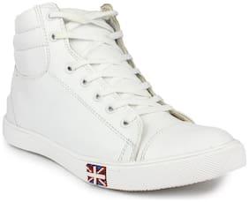 Aeonik White Sneakers for Men