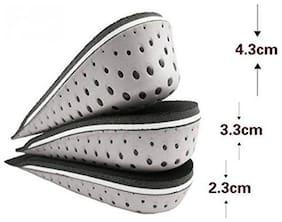 Aeoss Unisex Increase Orthoses Insole Half Cushion Cushion Cushion Workshop Height Male Female Footwear Shoes Height Workshop (3.3 CM)